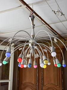 Mid-century sputnik chandelier with 24 lights
