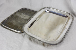 Early 19th Century Old Sheffield silver mazarine drainer tray