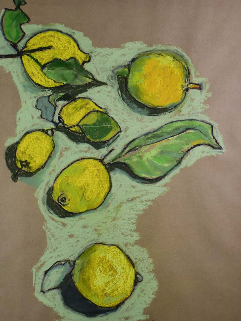 "Citrons by Caroline Beauzon - large 34¼"" x 24½"""