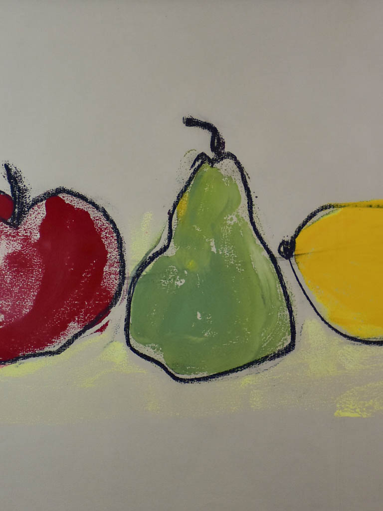 "Pomme, poire, citron"" by Caroline Beauzon 2 of 2 26½"" x 20½"""""
