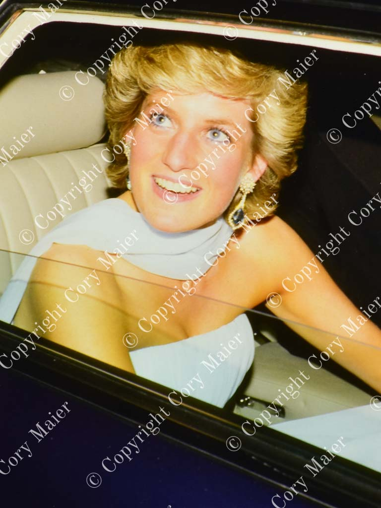 Princess Diana - 40th Cannes Film Festival 1987