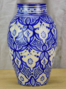Blue and white jar / vase SAFI 14¼""