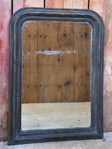 Rustic Louis Philippe mirror with original glass