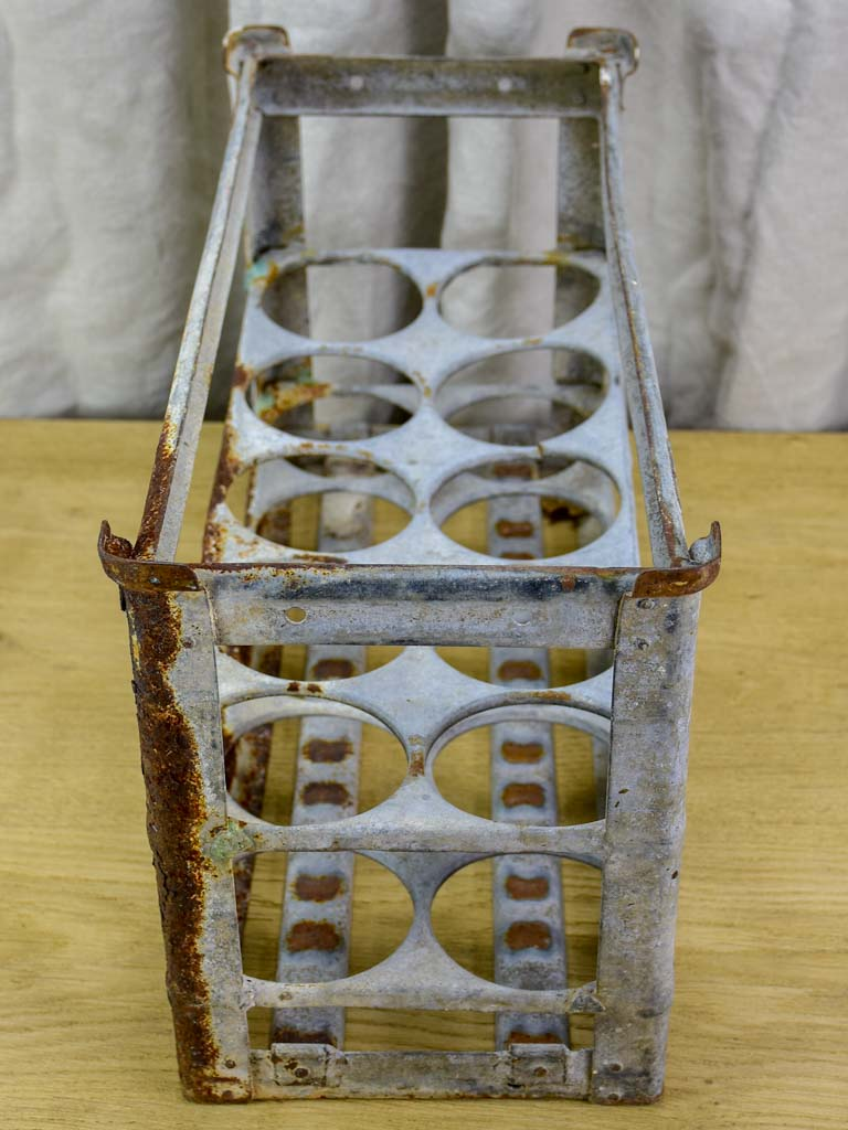 Rustic French bottle carrier - 10 bottles