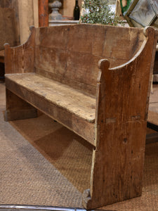 18th century French bench seat