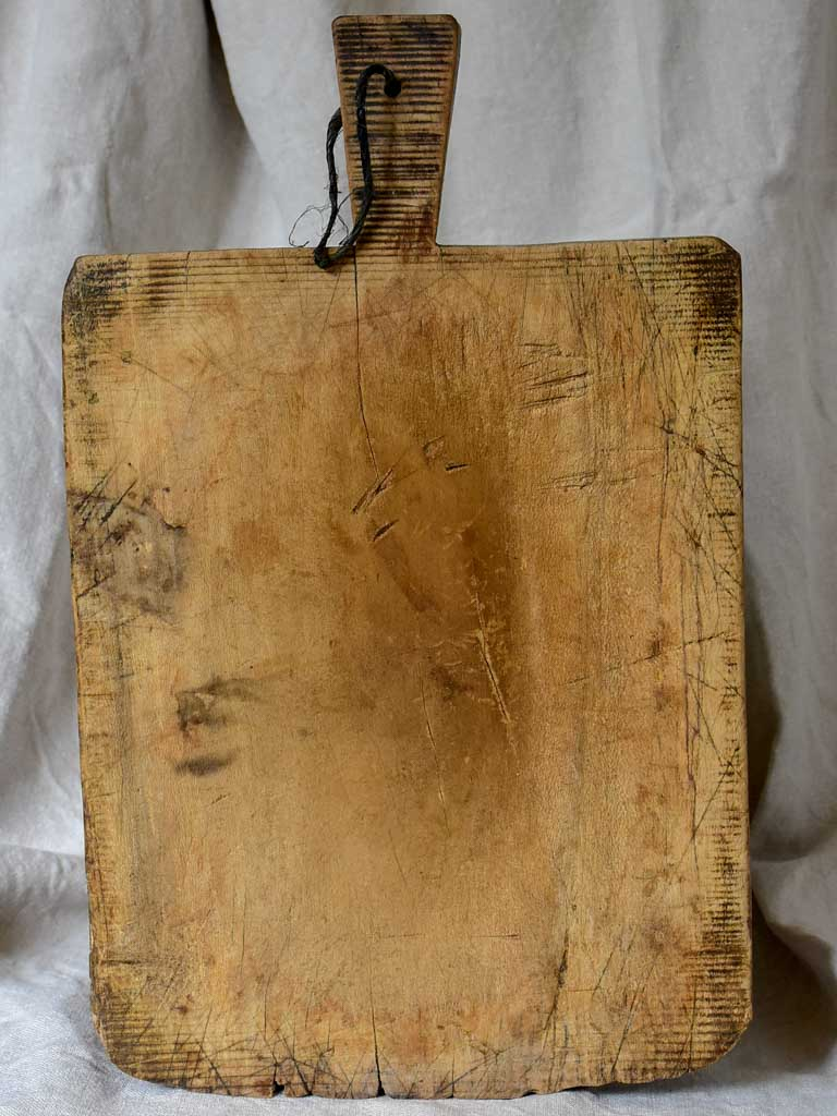 Large rustic worn antique French cutting board