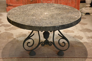 Large French garden table