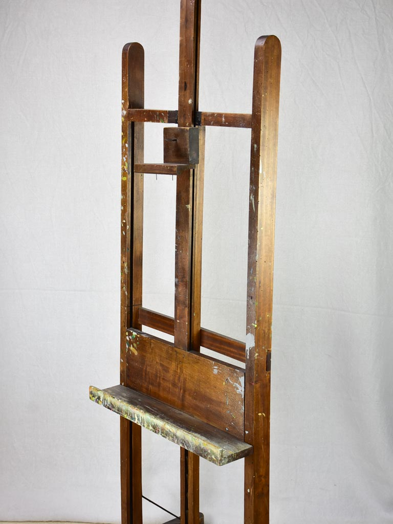 Late 19th / early 20th Century French easle - adjustable