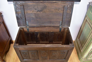 19th Century rustic trunk