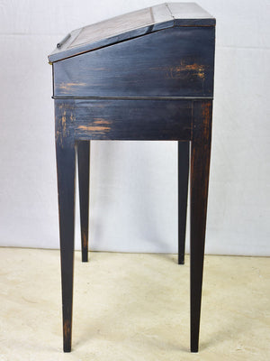 Early 20th Century French secretary desk with leather