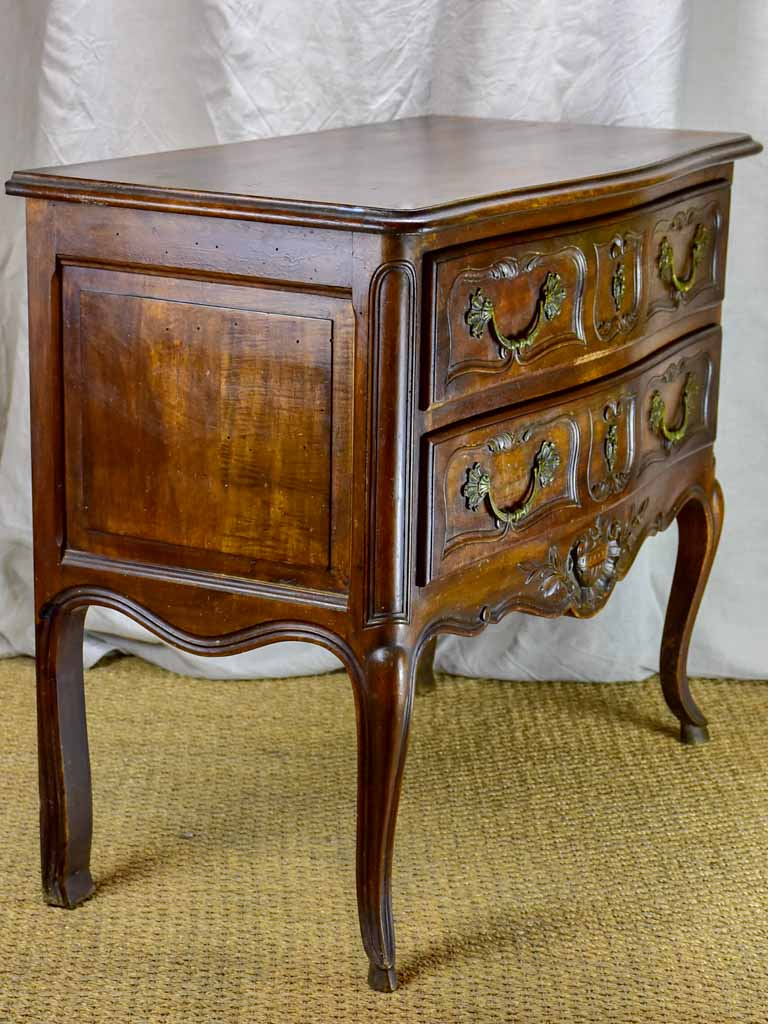 Mid Century French Provencal two drawer commode