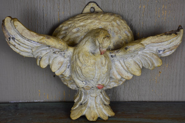 18th century salvaged dove - carved