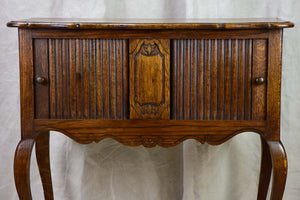 19th Century French double width nightstand for in between beds