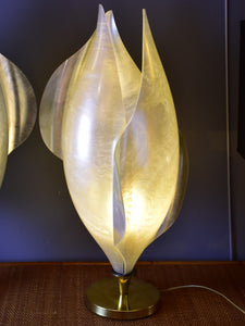 Vintage Liane Rougier lamp – abstract tulip
