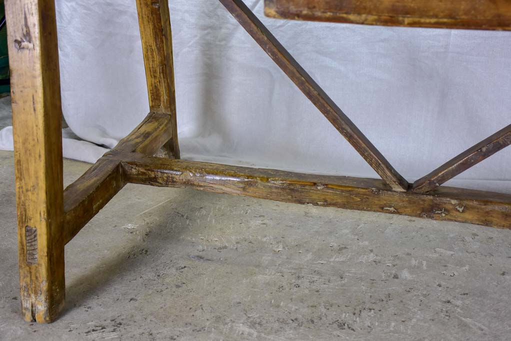 "18th Century rustic Spanish kitchen table 30¼"" x 69"""
