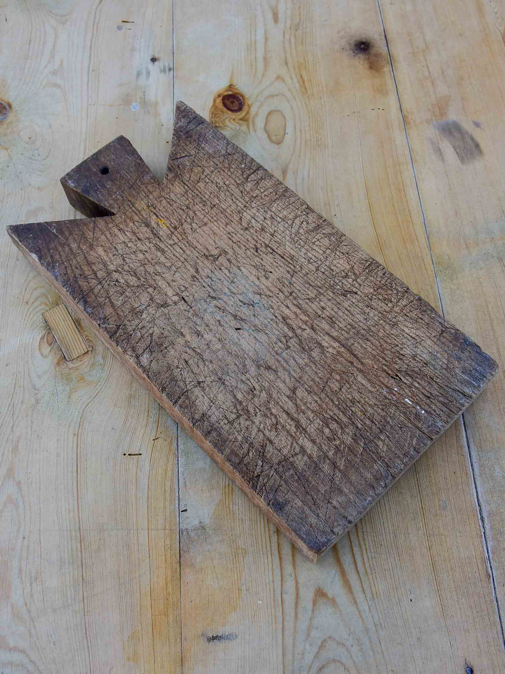 Small rectangular rustic French cutting board