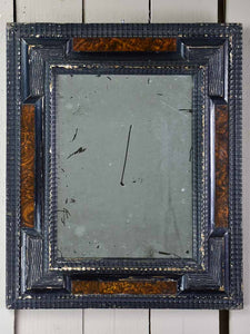 "Small 19th Century Napoleon III mirror 20"" x 24"""