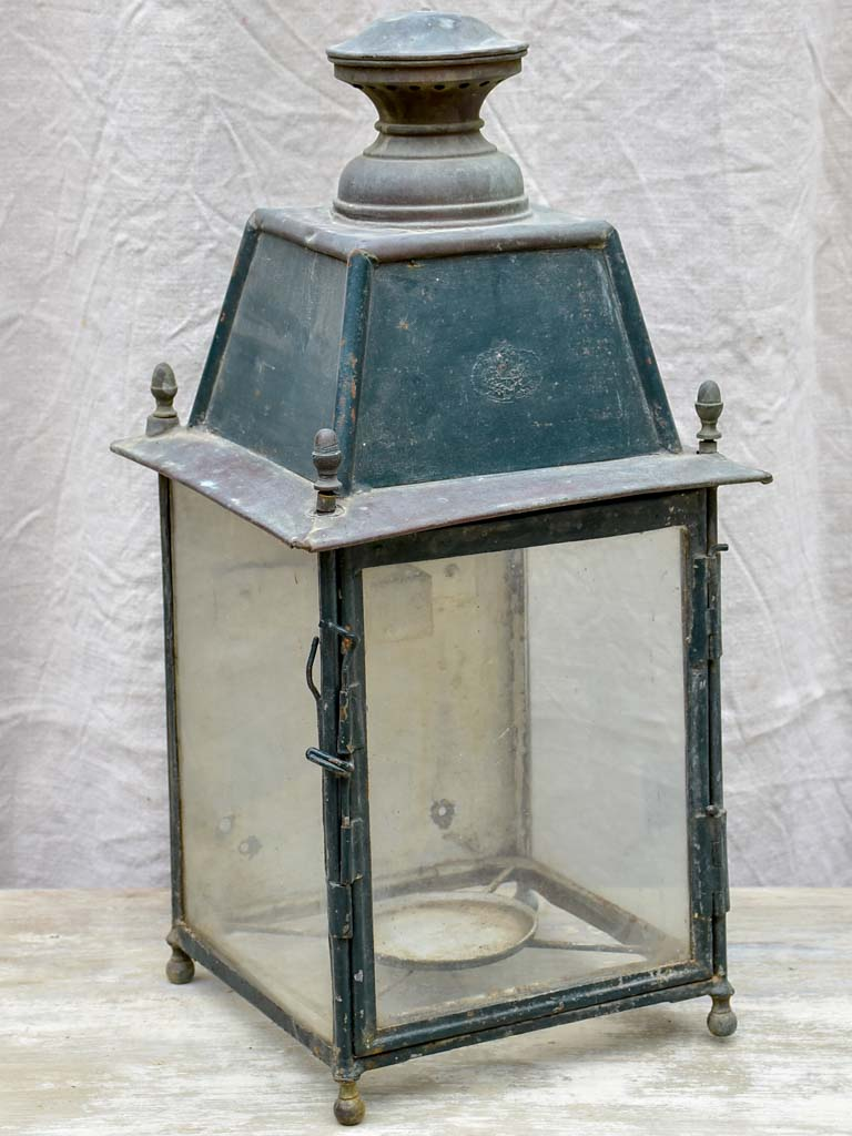 Antique French wall lantern