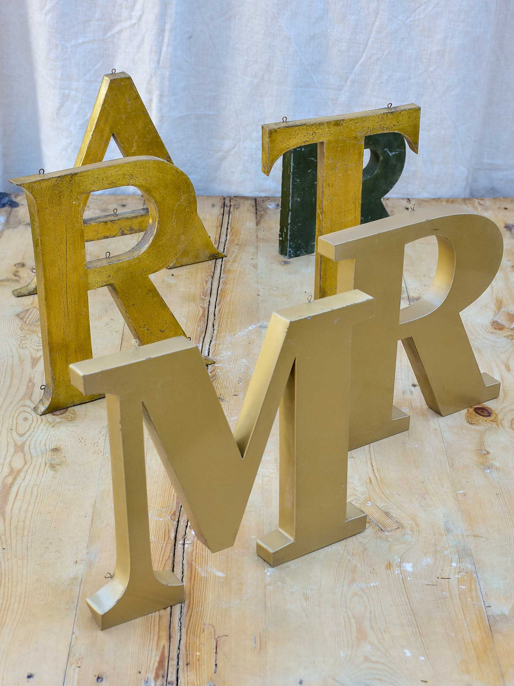Collection of vintage French letters - MR ART
