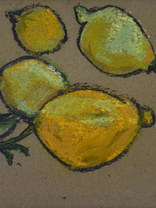 "Citrons 2 of 7 - 9½"" x 12¼"""