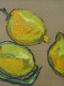 "Citrons 3 of 7 - 9½"" x 12¼"""
