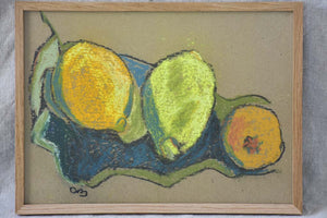 "Citrons 4 of 7 - 9½"" x 12¼"""