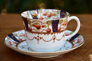 Victorian porcelain tea set for twelve