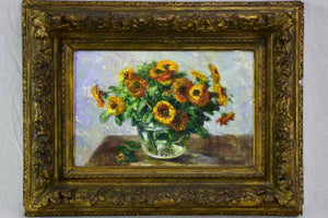 "Early 20th Century floral still life - Etienne De Lierres 18½"" x 24"""