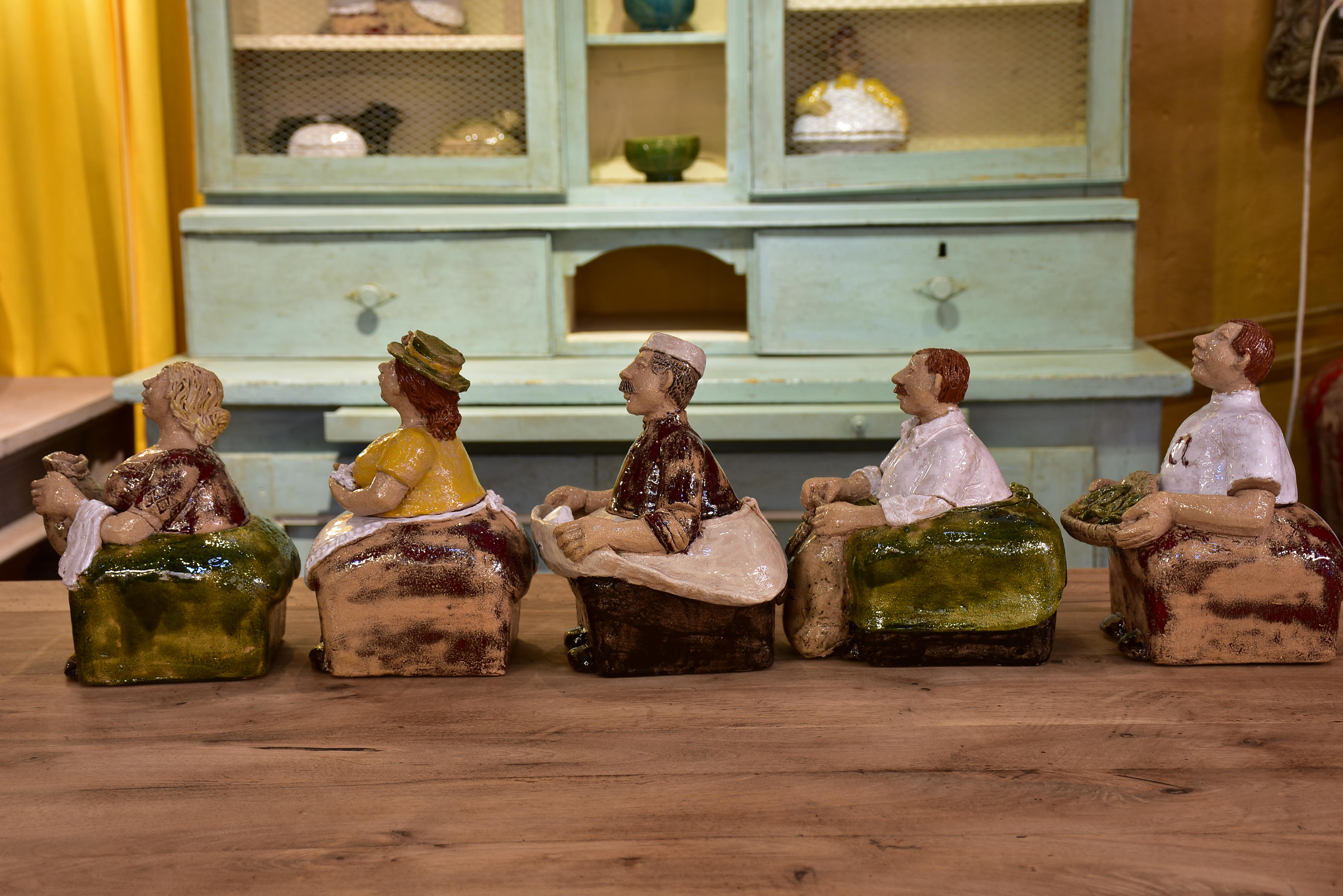 Artisan French pottery storage containers - by order