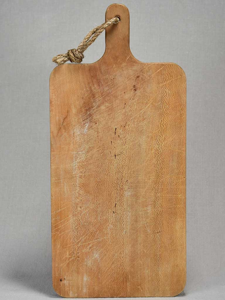 "Antique French cutting board with rounded edges 19¾"" x 9"""