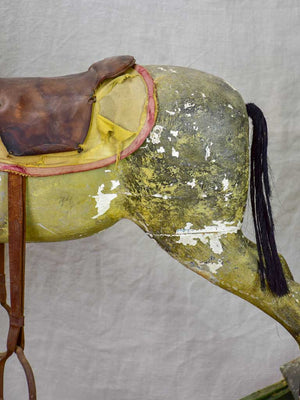 Early 20th Century French rocking horse