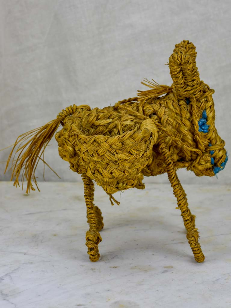 Small 1940's sculpture of a donkey