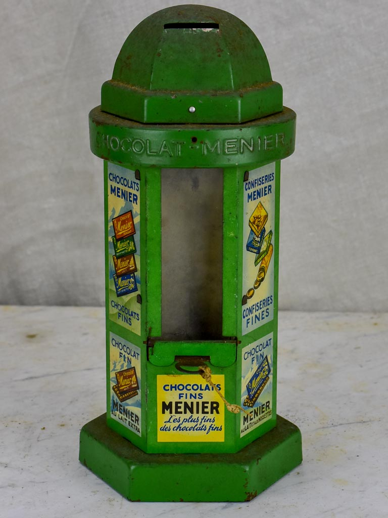 French 'Chocolat Menier' money box - 1950's