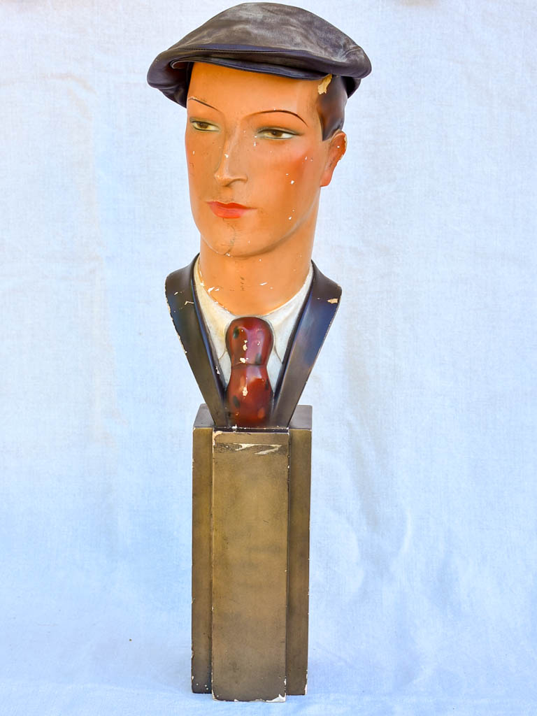 1930's Siegel hat display mannequin 28¾""