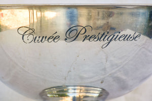 Vintage French ice bucket - Cuvee Prestigieuse