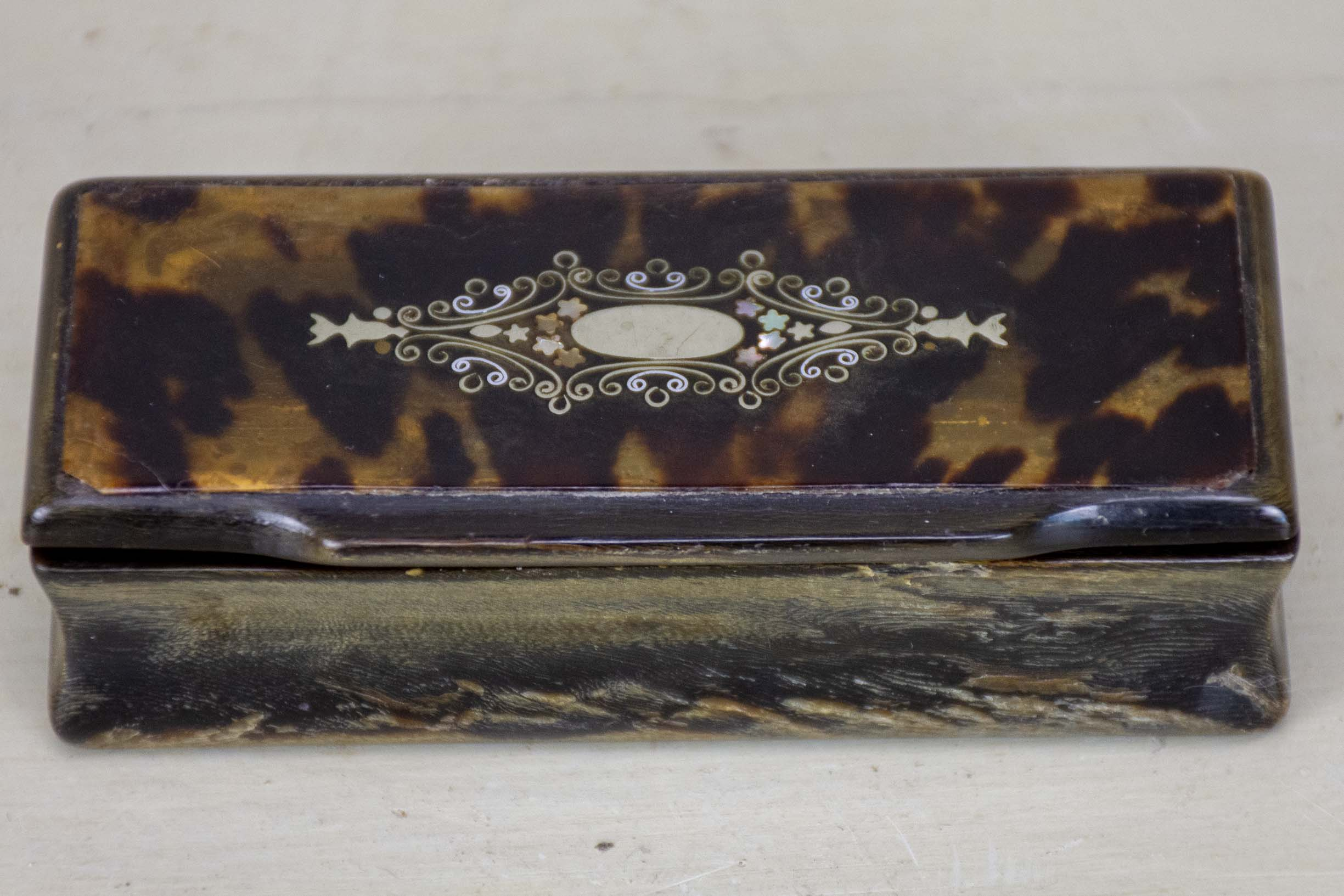 Small Napoleon III jewelry box