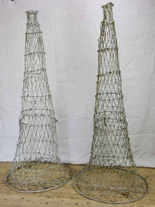 Two wire topiary training frames 63½""