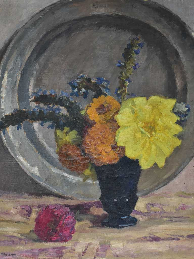 Antique French still life - Louïs Pratt