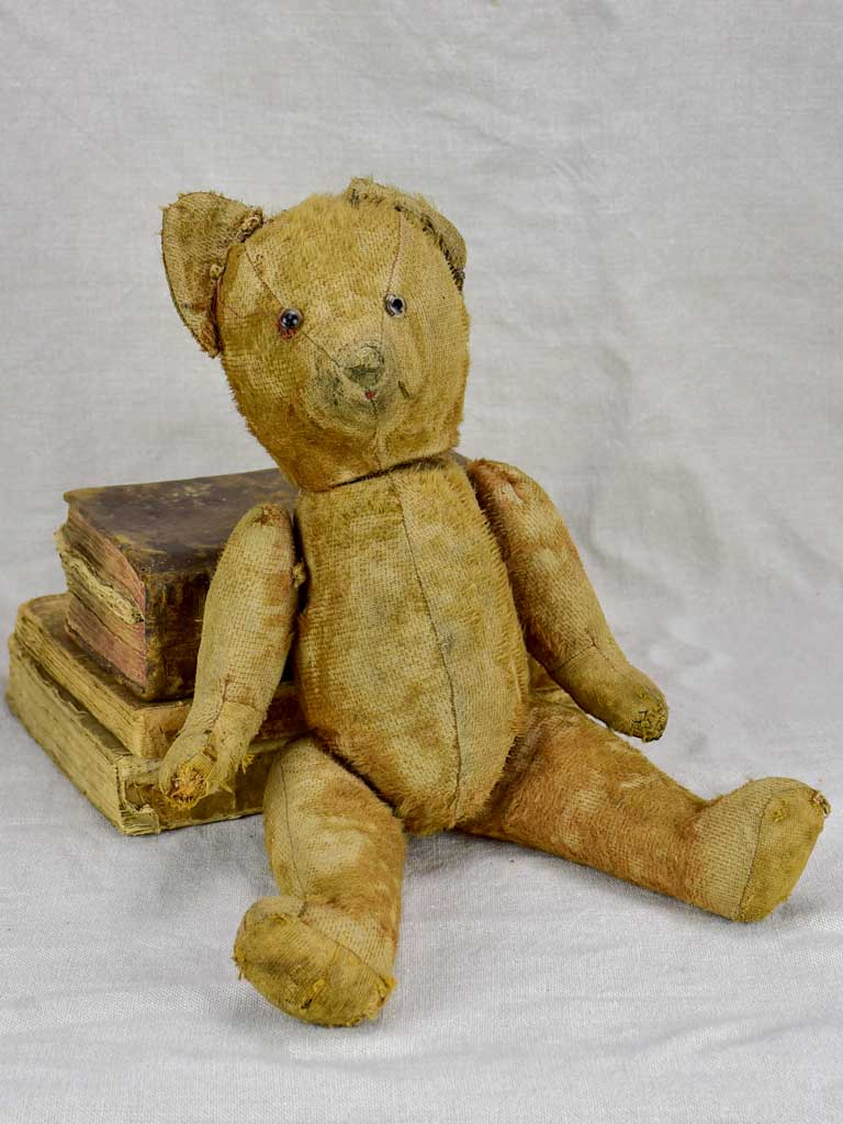 RESERVED MA Early 20th Century French toy teddy bear