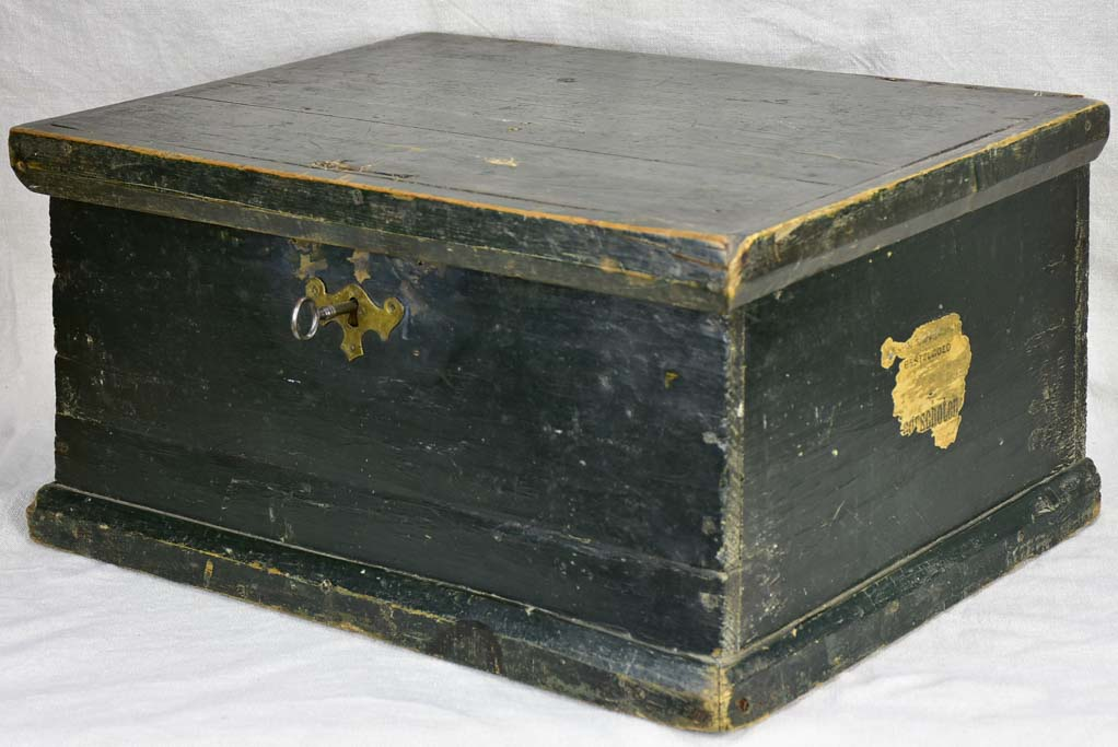 Late 19th Century French storage trunk