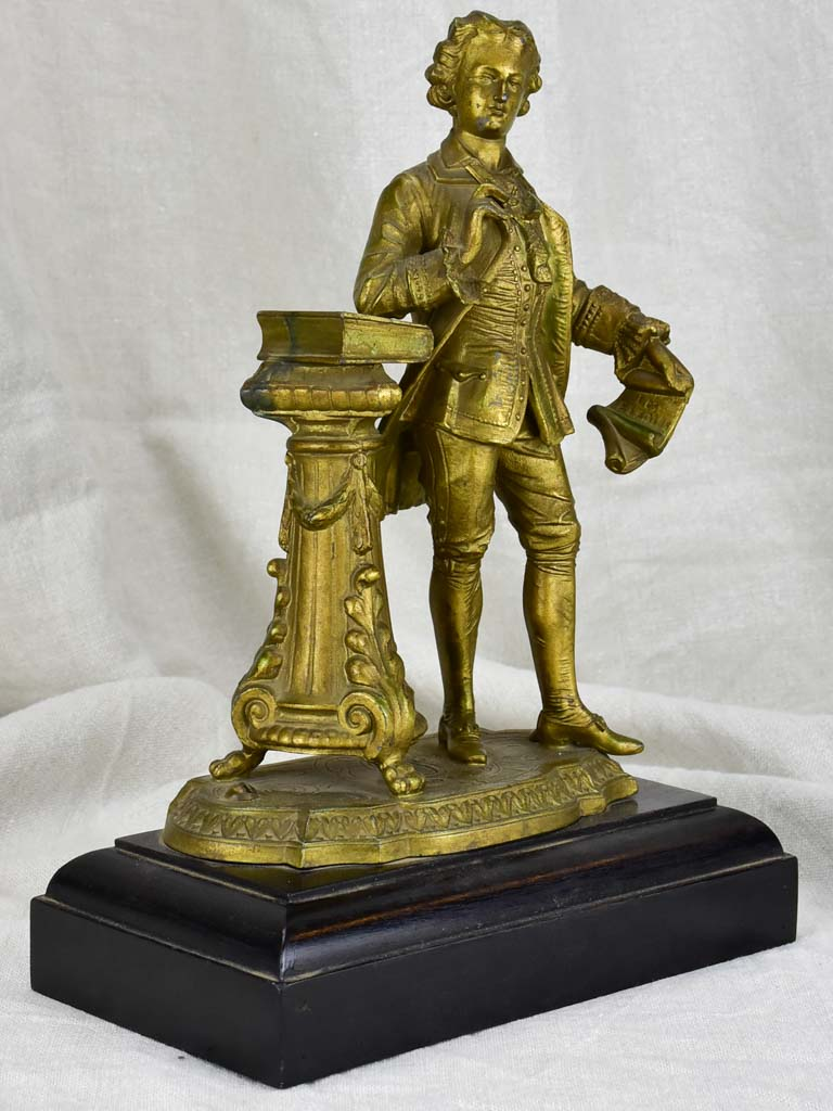 Antique French statue E. LEGIES