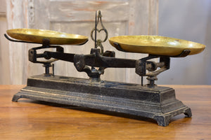 Antique French kitchen scales