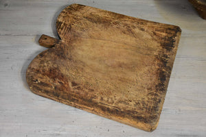 Rustic French cutting board with rounded edges