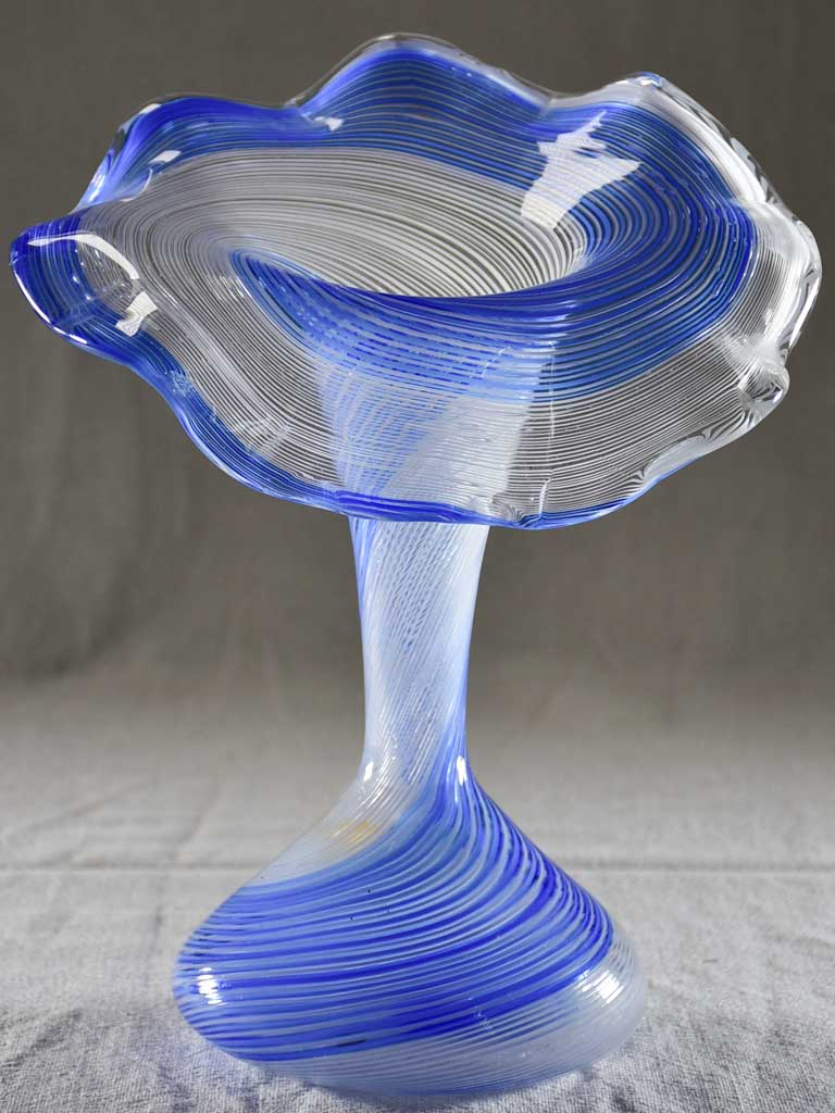 Early twentieth-century Italian glass vase 10¾""
