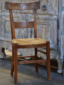 Set of 8 French 'Directoire' chairs late 18th century