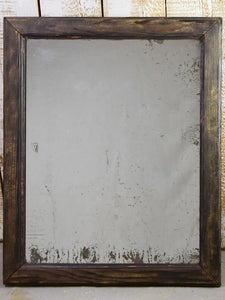 "19th Century French mirror with painted pine frame 26"" x 33¾"""