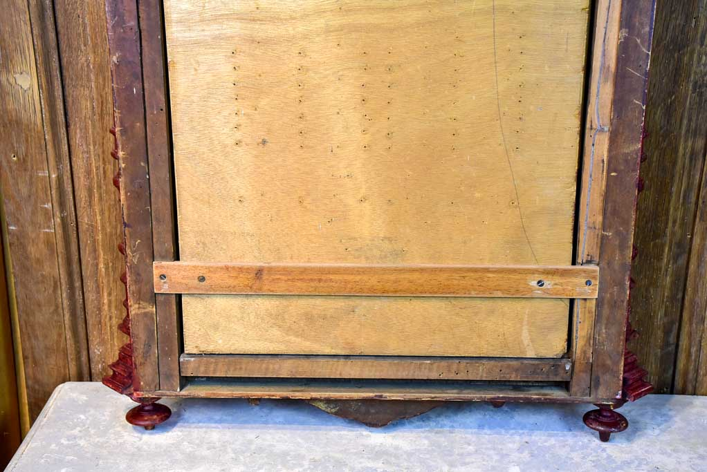 19th Century bistro Boule club display case