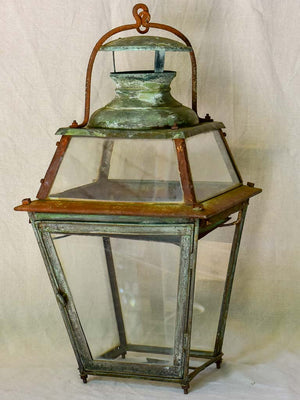 Large 19th Century French lantern 27¼""