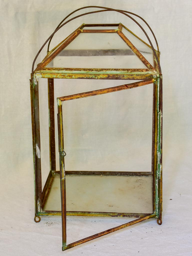 Rustic 19th Century French lantern 15¾""