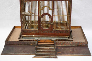 Grand French birdcage from the 19th century